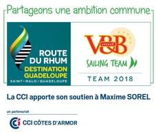 Route du Rhum Maxime Sorel